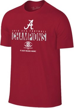 Wildcat Retro Men's University of Alabama 2018 SEC Champions Locker Room T-Shirt
