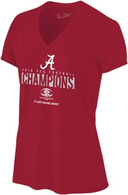 Wildcat Retro Women's University of Alabama 2018 SEC Champions Locker Room T-Shirt