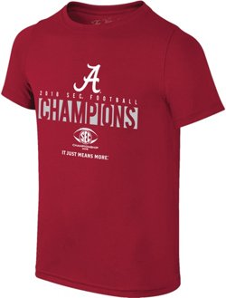 Wildcat Retro Boys' University of Alabama 2018 SEC Champions Locker Room T-Shirt
