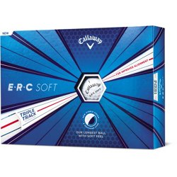 ERC Soft 19 Triple Track Golf Balls 12-Pack