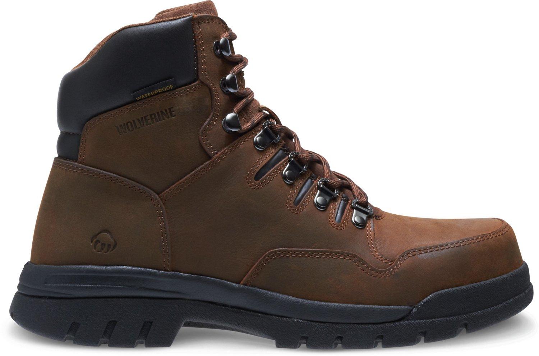 6ce8df459c9 Wolverine Men's Potomac 2 EH Steel Toe Lace Up Work Boots