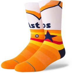Houston Astros Retro 1975 Crew Socks