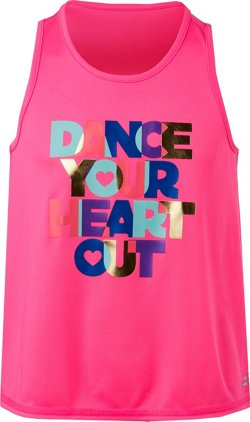 Girls' Turbo Graphic Tank Top