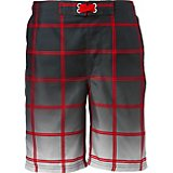 O'Rageous Boys' Ombre Plaid Boardshorts