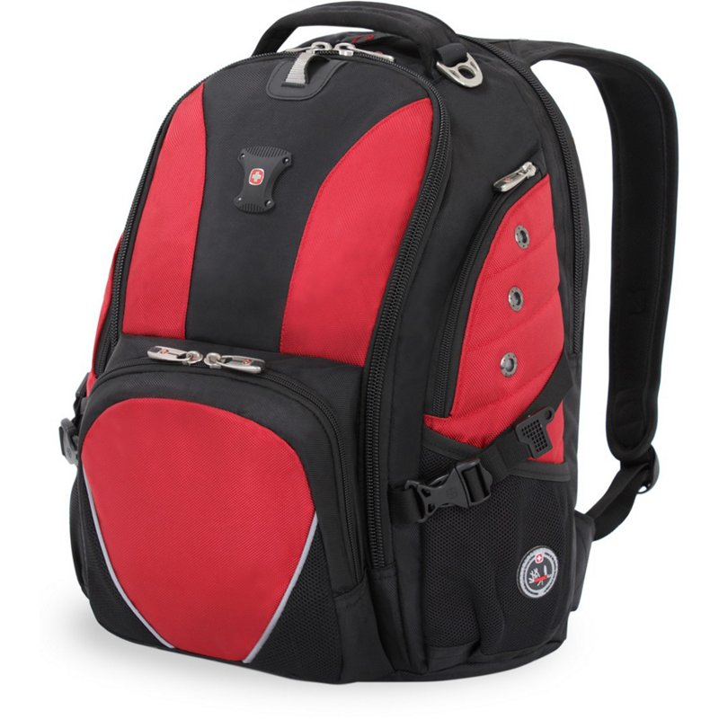 SwissGear 1592 Deluxe Laptop Backpack Red - Backpacks at Academy Sports