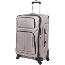 25 in Expandable 4-Wheel Check-in Luggage