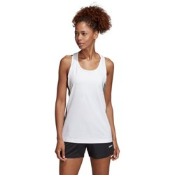 adidas Women's Designed 2 Move 3 Stripes Tank Top