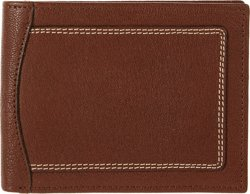 Magellan Outdoors Men's Double-Stitch Bifold Wallet