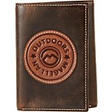Magellan Outdoors Men's Circle Patch Trifold Wallet
