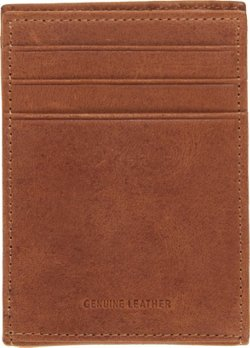 Magellan Outdoors Men's Casual Buff Front Pocket Wallet