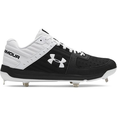 b9f2f946a72 ... Under Armour Men s Ignite Low Metal Baseball Cleats. Men s Baseball  Cleats. Hover Click to enlarge