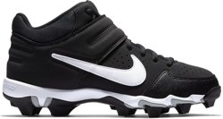 Boys' Alpha Huarache Varsity Keystone Mid Baseball Cleats