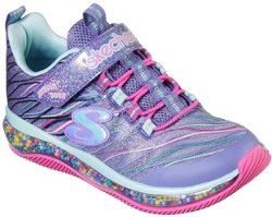 SKECHERS Girls' Skech Air Jumpin' Dots Funfetti Shoes