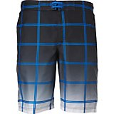 O'Rageous Men's Ombre Plaid Boardshorts