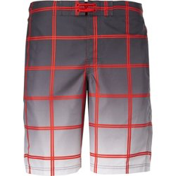 Men's Ombre Plaid Boardshorts