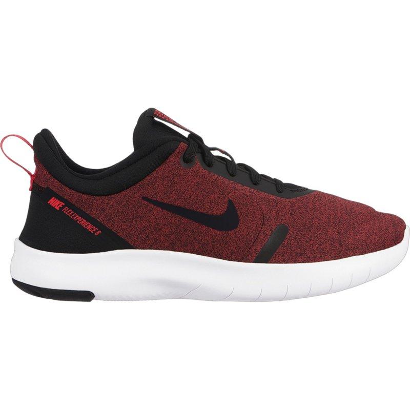 Nike Boys  Flex Experience RN 8 Running Shoes (Black University Red White 0c96ed8b8