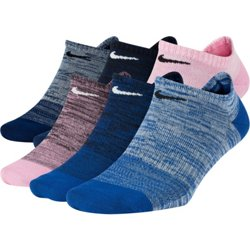 Lightweight No-Show Training Socks 6 Pack