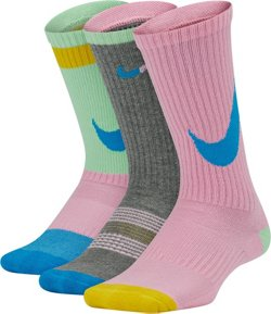 Boys' Everyday Training Crew Socks 3 Pack
