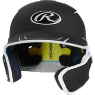 Rawlings Boys' Mach Junior 2-Tone Batting Helmet with EXT Flap