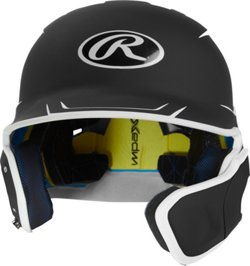Boys' Mach Junior 2-Tone Batting Helmet with EXT Flap