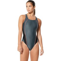 Women's Interference Glow Flyback Competitive Swimsuit