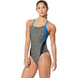 Women's Relaunch Heather Flyback 1-Piece Competitive Swimsuit