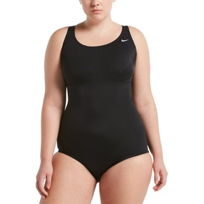 cd8f79598ec27 Academy   Nike Women s Plus Size Solid Epic Racerback 1-Piece Swimsuit.  Academy. Hover Click to enlarge