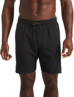 Nike Men's Solid Vital Volley Swim Trunks