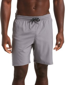 Men's Solid Vital Volley Swim Trunks