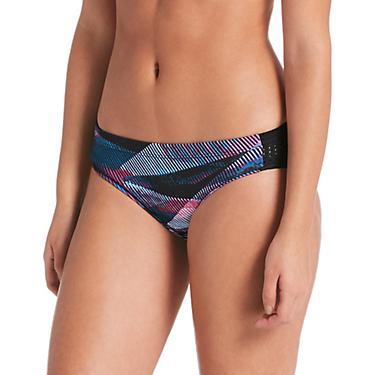 bf91c761fa0 Nike Women's Lineup Hipster Swim Bottoms