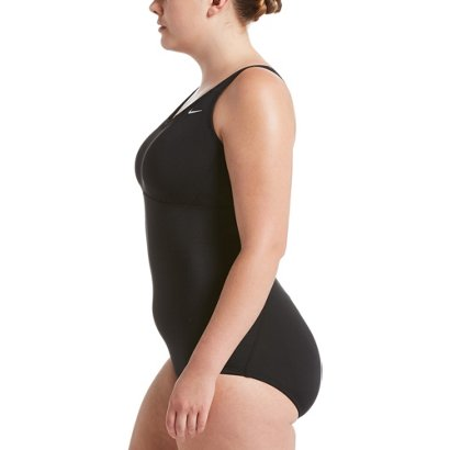 f83b12ca05b Nike Women s Plus Size Solid Epic Racerback 1-Piece Swimsuit