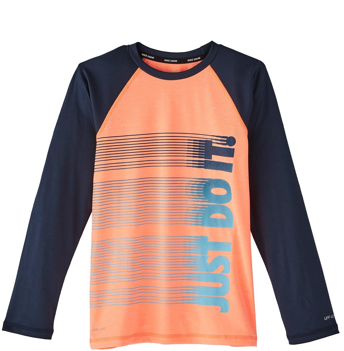 new product 7a88e 47f64 Nike Boys  Heather JDI Long Sleeve Hydroguard Top   Academy