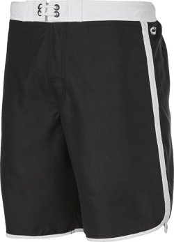O'Rageous Men's Solid Scalloped Boardshorts