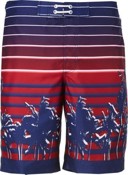 Men's Americana Sunset Board Shorts