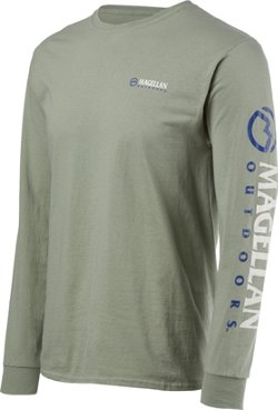 Magellan Outdoors Men's Grotto Falls Long Sleeve T-shirt