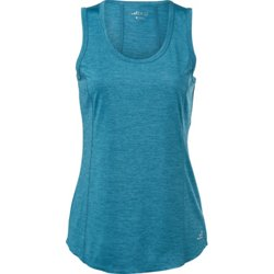 Women's Athletic Melange Turbo Muscle Tank Top