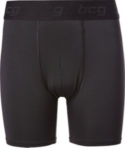 Boys' Solid Compression Shorts