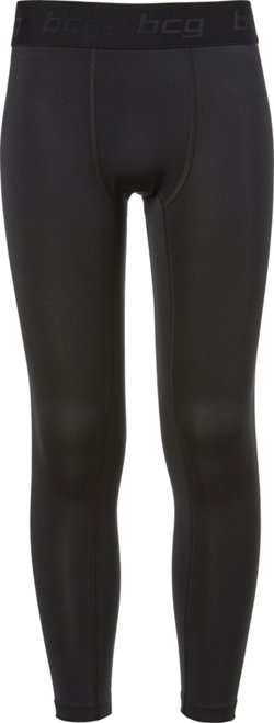 Boys' Solid Compression Tights