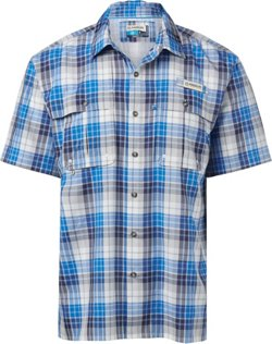 Men's Aransas Pass Oso Lite Fishing Short Sleeve Button Down Shirt