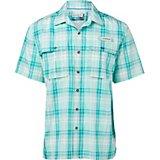 1a31686823f2e Magellan Outdoors Men s Aransas Pass Oso Lite Fishing Short Sleeve Button  Down Shirt