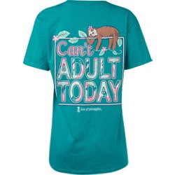Women's Can't Adult Today T-shirt