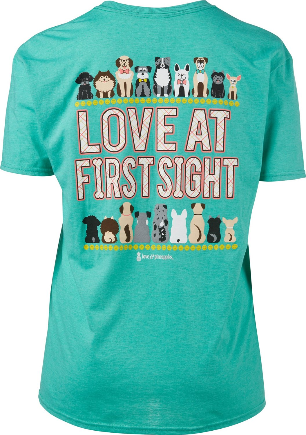 1c33fc05 Display product reviews for Love & Pineapples Women's Love at First Sight T- shirt
