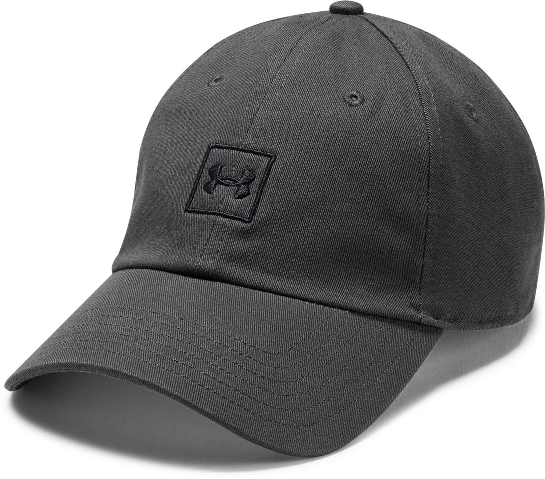 9ad8f0fc68d Under Armour Men s Washed Cotton Cap
