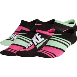 Youth Lightweight GFX No-Show Socks 6 Pack