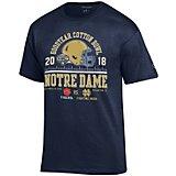 d955873b Men's Notre Dame vs Clemson Cotton Bowl 2018 T-shirt