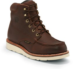 Chippewa Boots Men's 6 in Waterproof Mocc Toe Boots