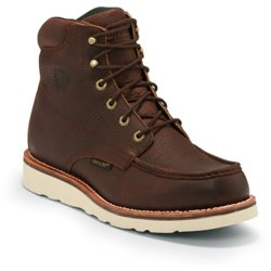 Men's 6 in Waterproof Mocc Toe Boots