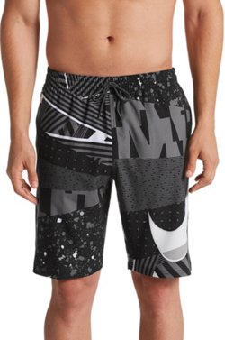 Men's Printed Swoosh Volley Board Shorts