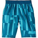 Nike Boys' Printed Logo Volley 1-Piece Swim Shorts