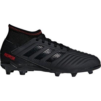 ea680692f adidas Boys  Predator 19.3 Firm Ground Soccer Cleats